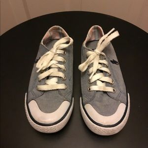 Polo Ralph Lauren Blue Sneakers